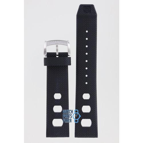 Zodiac Zodiac ZO2221 Watch Band Black Silicone 22 mm