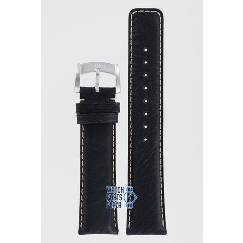 Zodiac Zodiac ZO2204 Horlogeband Zwart Leer 20 mm
