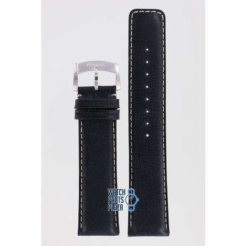 Zodiac Zodiac ZO2208 Watch Band Black Leather 22 mm