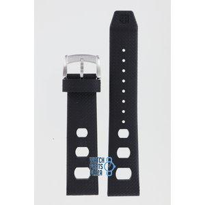 Zodiac Zodiac ZO2200 Watch Band Black Silicone 20 mm