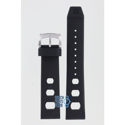 Zodiac Zodiac ZO2200 Horlogeband Zwart Siliconen 20 mm