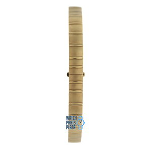 Burberry Burberry BU4556 Watch Band Gold Plated Stainless Steel 12 mm