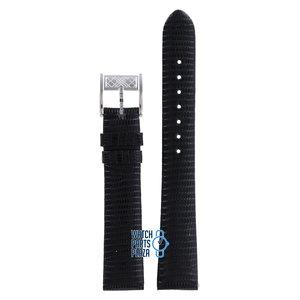 Burberry Burberry BU4200 Horlogeband Zwart Leer 17 mm