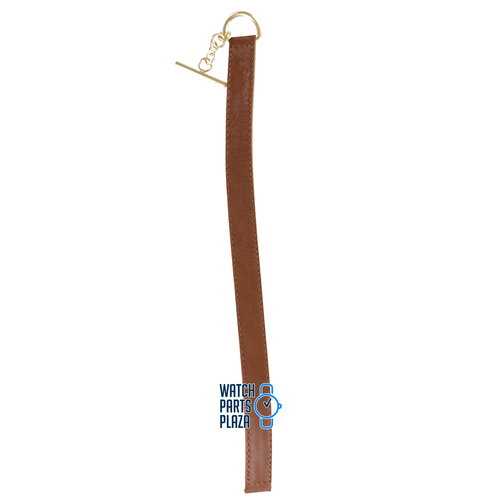 Burberry Burberry BU5307 Watch Band Brown Leather 16 mm