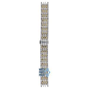 Burberry Burberry BU2017 Horlogeband Bicolor Roestvrijstaal 14 mm