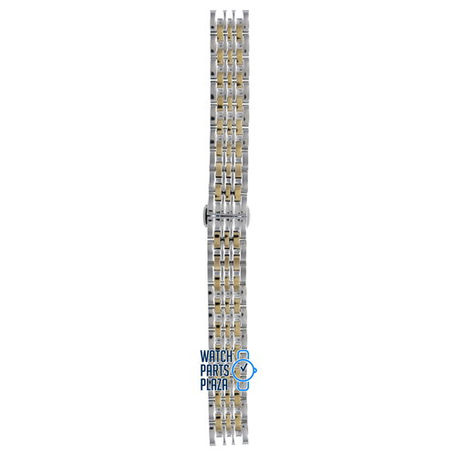 Burberry Burberry BU2017 Watch Band Two-Tone / Dual-Tone Stainless Steel 14 mm