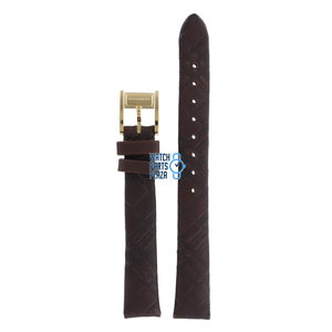 Burberry Burberry BU2009 Watch Band Brown Leather 14 mm