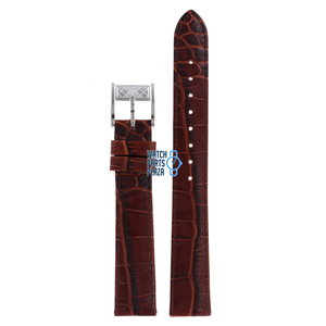 Burberry Burberry BU1357 Watch Band Brown Leather 16 mm