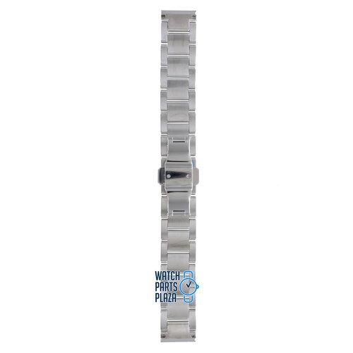 Burberry Burberry BU1056 Watch Band BU-1056 Grey Stainless Steel 18 mm