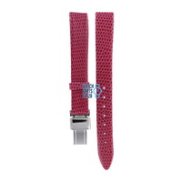 Burberry BU1026 Watch Band Pink Leather 13 mm