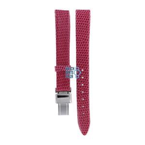 Burberry Burberry BU1026 Horlogeband Roze Leer 13 mm