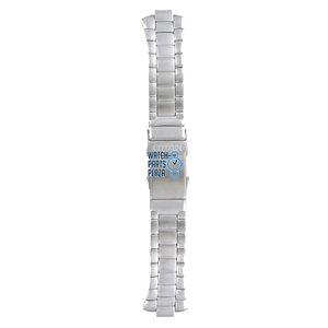 Citizen Citizen AL0050 & BJ2040 Horlogeband Grijs Roestvrijstaal 16 mm