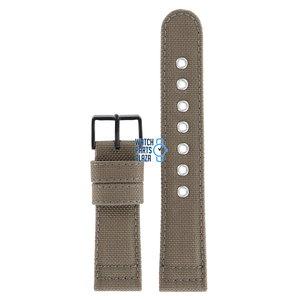Citizen Citizen BV1085-31E Chandler Horlogeband Bruin Leer & Textiel 22 mm