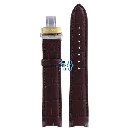 Citizen Citizen BL8002, BL8003 & BL8006 Watch Band Brown Leather 20 mm