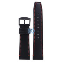 Citizen AT8125-05E Radio Controlled Watch Band Black Leather 22 mm