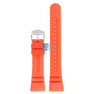 Citizen Citizen JV0020-21F & JV0030-19F Aqualand Watch Band Orange Silicone 26 mm