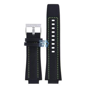 Citizen Citizen CA4144-01E BRT Watch Band Black Leather 16 mm
