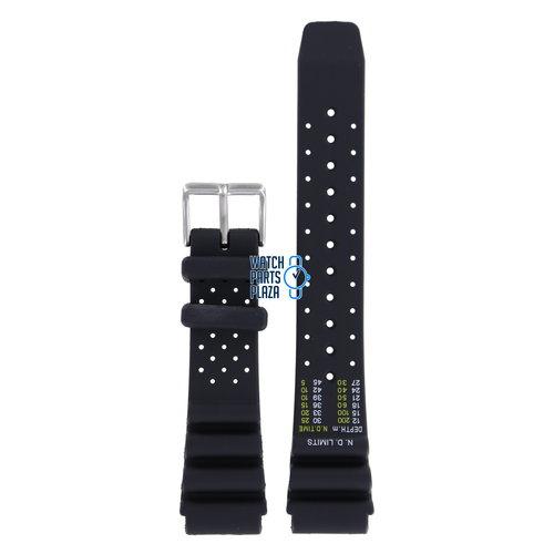 Citizen Citizen BN0150, BN0155, BN0156, BN0158 & BN0159 Sea Watch Band Black Silicone 20 mm