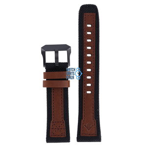 Citizen Citizen BN4049-11E Altichron Bracelet De Montre Brun Cuir et Textile 22 mm