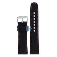 Citizen BU2040-05E & BU2040-05E-1 Sports Watch Band Black Leather & Textile 22 mm