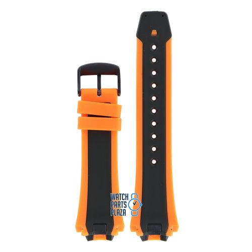 Citizen Citizen BN0097-11E & CA0517-07E Scuba Fin Watch Band 59-S52816 Orange Silicone 20 mm Eco-Drive