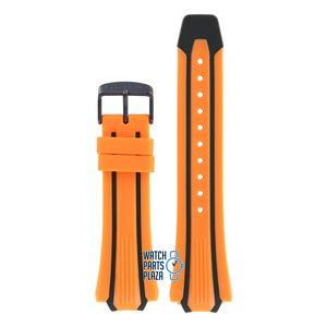 Citizen Citizen BN0097-11E & CA0517-07E Scuba Fin Horlogeband Oranje Siliconen 20 mm