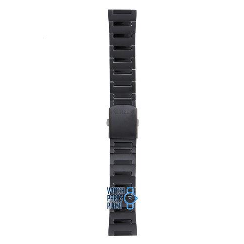Citizen Citizen BM6985, BM6989, BM6995, BM6998, BU4025 & BU4028 Watch Band Black Stainless Steel 22 mm
