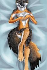 Kitty Fluff Bath Towel, Island Grey Vixen
