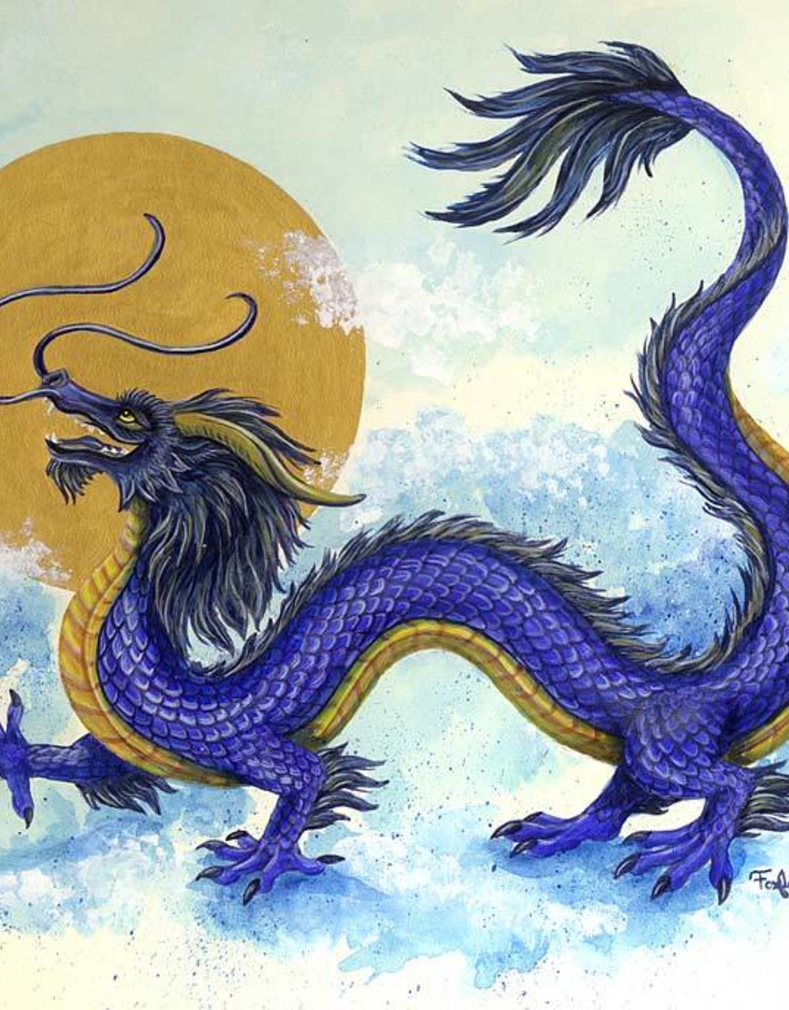 Foxloft Studios Nikki's Blue Dragon