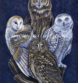 Foxloft Studios Totem Owls