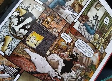 Comics, English