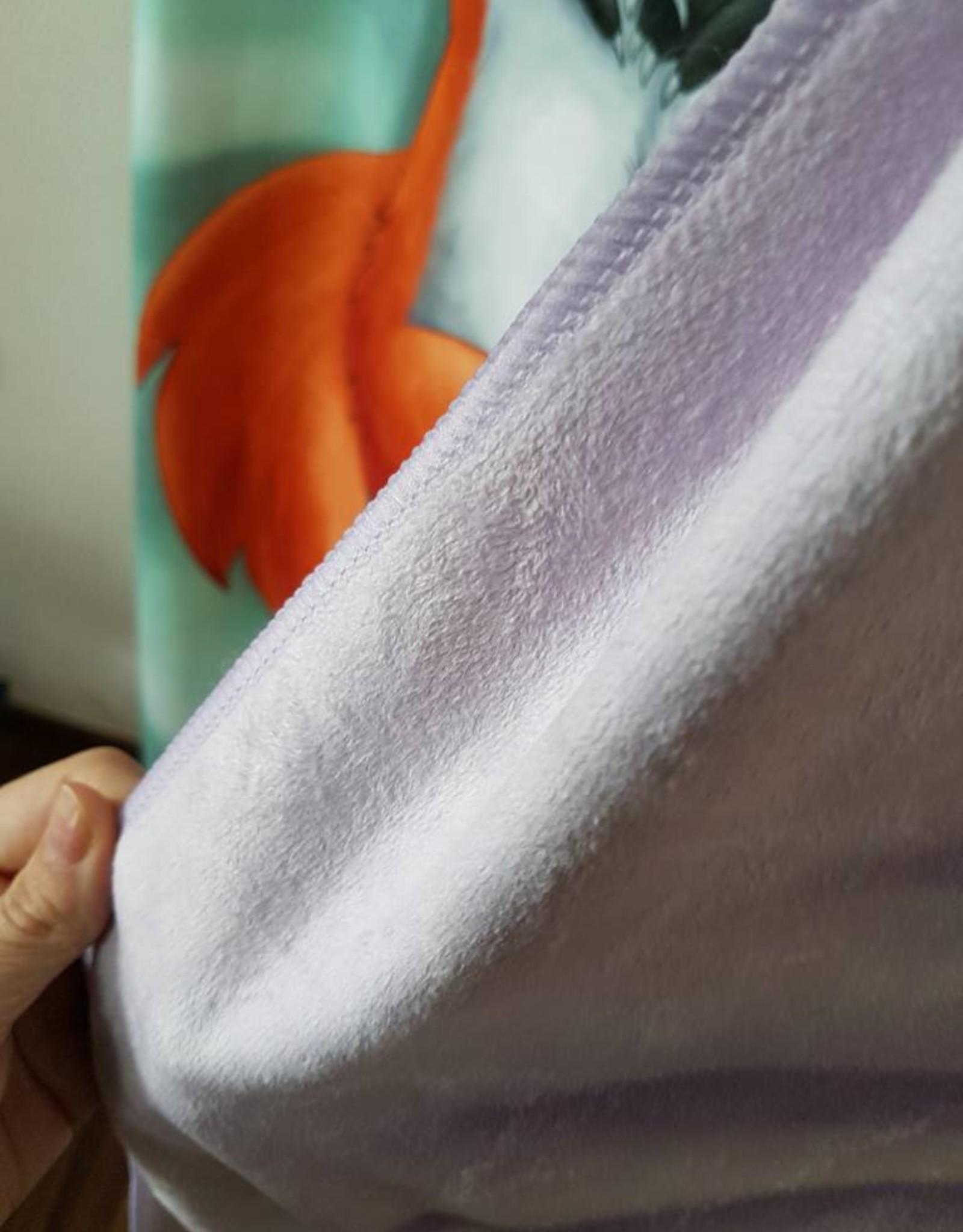 Kitty Fluff Bath Towel, Wolf