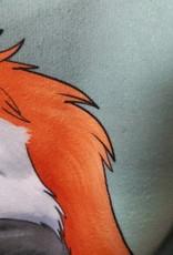 Kitty Fluff Bath Towel, Fox