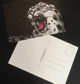 Elmsfeuer Art Big cats post card (3 variants)