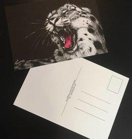 Elmsfeuer Art Big cats post card (3 variants)