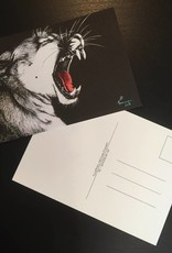 Elmsfeuer Art Grosskatzenpostkarte (3 Varianten)