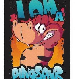 Flacko Weasel Dinosaurier-Badges