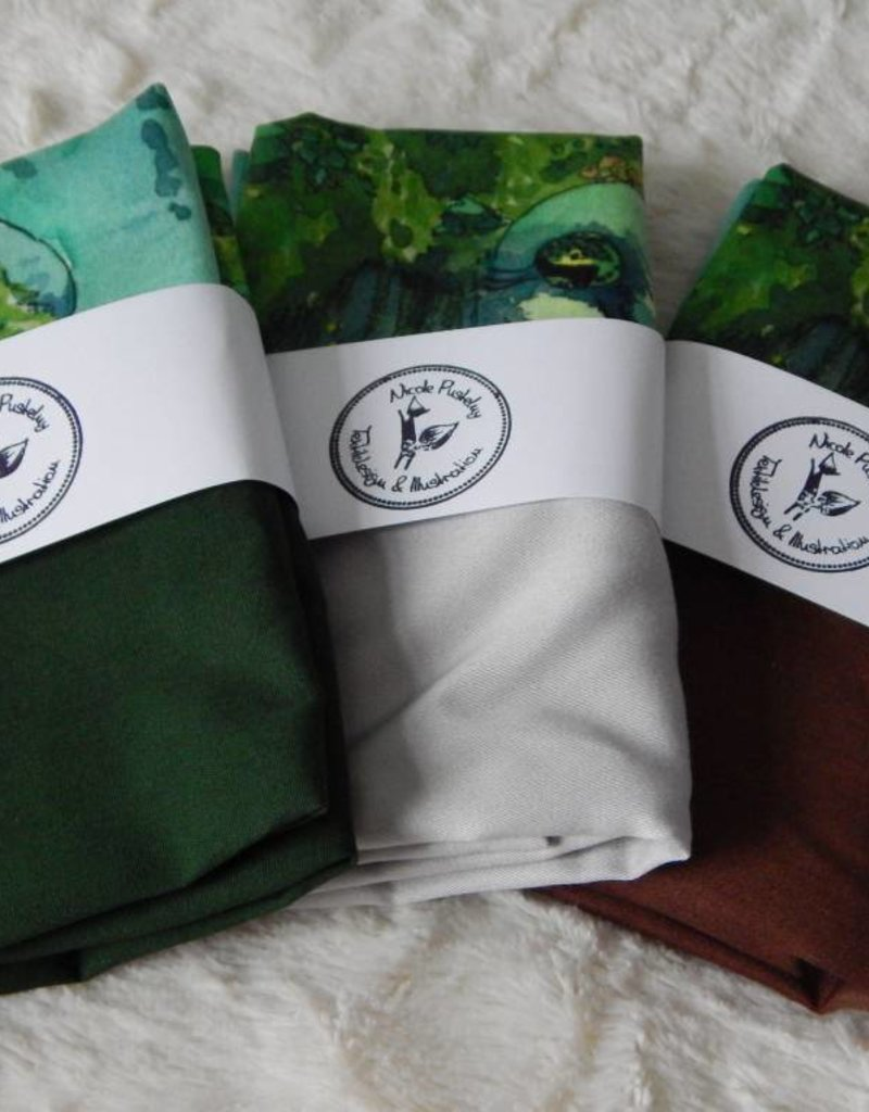 Nicole Pustelny Pillow Sheets, Fox water colour