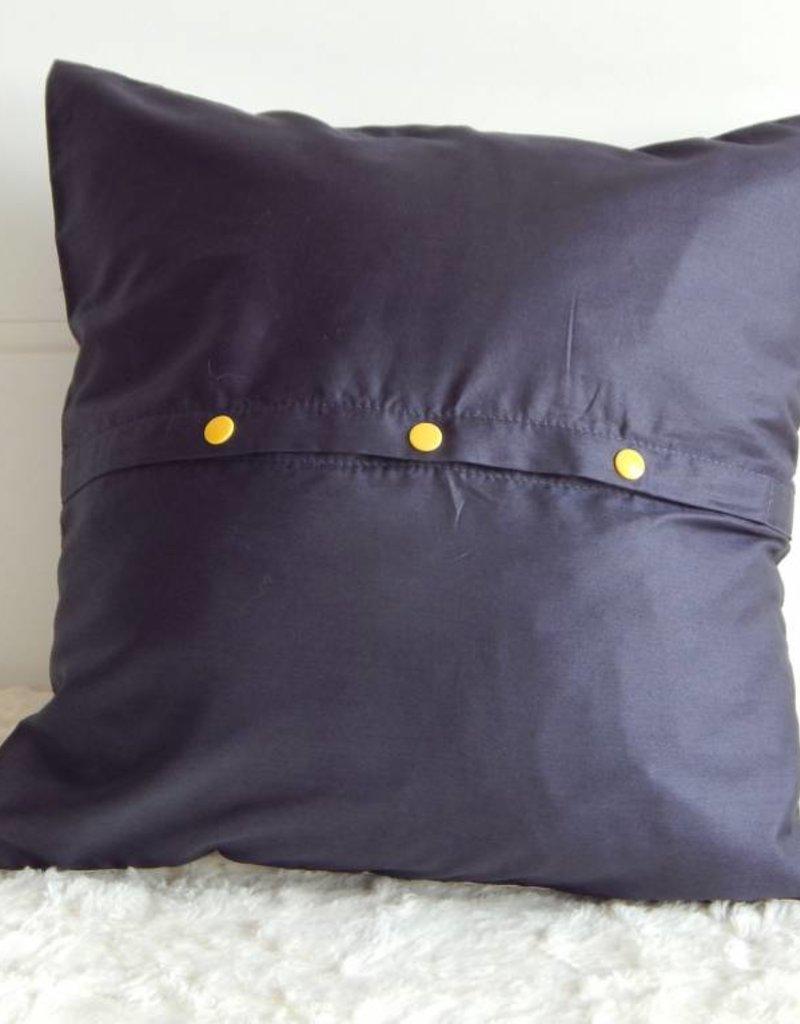 Nicole Pustelny Pillow Sheets, Fox Black-White