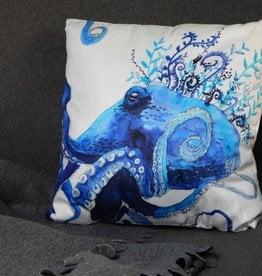 Nicole Pustelny Pillow Sheets, Octopus Blue