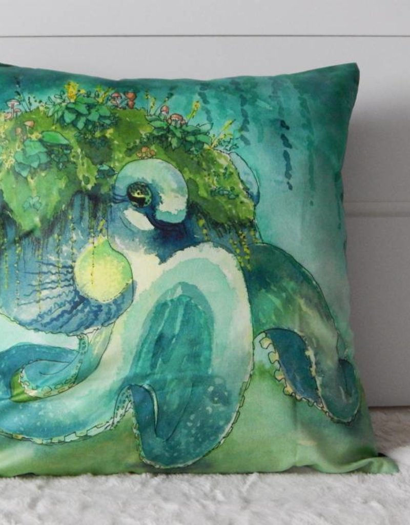 Nicole Pustelny Pillow Sheets, Forest And Meadows Octopus