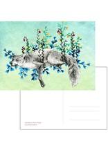 Nicole Pustelny Postkarte - Wiesenfuchs