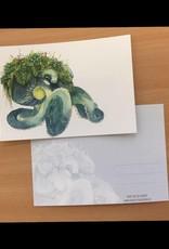 Nicole Pustelny Postkarte -Waldundwiesenoktopus
