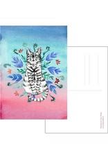 Nicole Pustelny Postcard - Cat