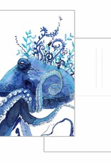 Nicole Pustelny Postcard - Octopus