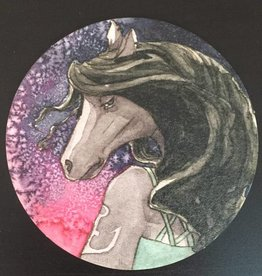 Nicole Pustelny Beer mat, Horse