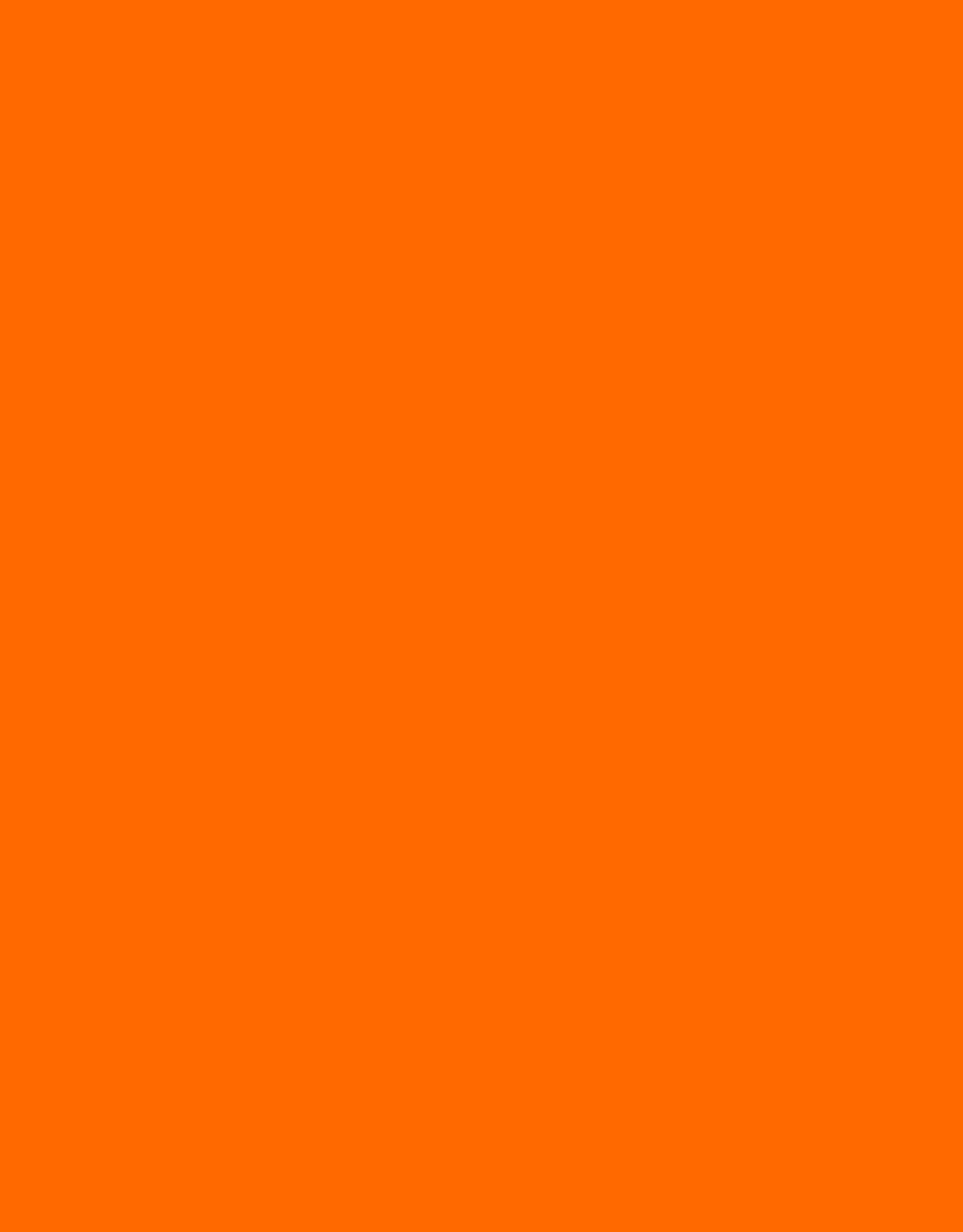 Kitty Fluff Siam - Safety Orange