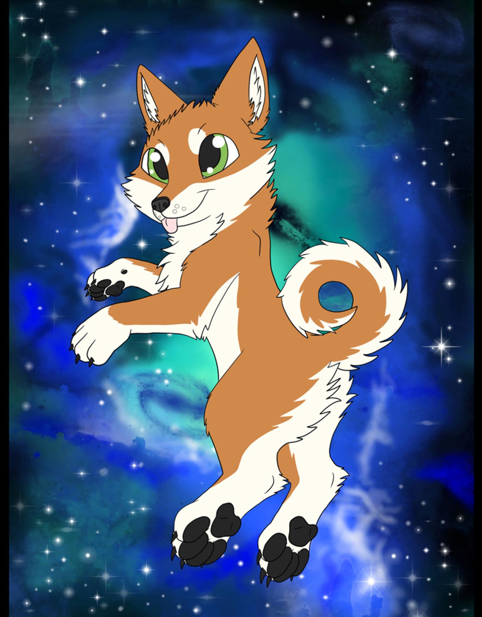 Kitty Fluff Flauschige Decke- Shiba (Orange)
