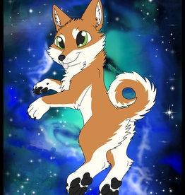 Kitty Fluff Fluffy Blanket- Shiba (Orange)