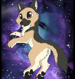 Kitty Fluff Fluffy Blanket- German Shepherd